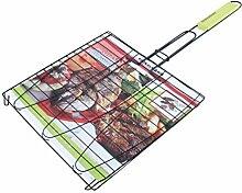 Fackelmann Grille pour la Viande et Poisson carré