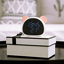 FairOnly Horloge miroir multifonction avec
