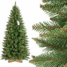 FAIRYTREES 150cm Sapin de Noël artificiel