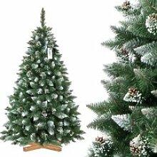 FAIRYTREES 180cm Sapin de Noël artificiel Pin -