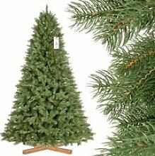 FAIRYTREES 220cm Sapin de Noël artificiel
