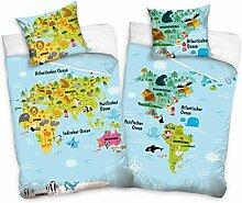 Familando Parure de lit pour enfant 100 % coton