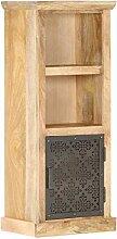 FAMIROSA Buffet avec Porte 45x32x110 cm Bois de