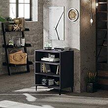 FAMIROSA Buffet Gris 57x35x70 cm Aggloméré-6060