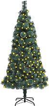 FAMIROSA Sapin de Noël Artificiel avec LED et