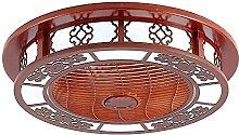 Fan Plafonnier Feu de ventilateur LED Plafonnier