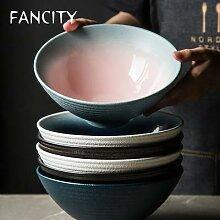 FANCITY bol en céramique de Style japonais bol