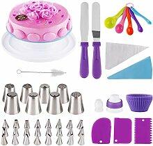 Fancywhoop Kit de Pâtisserie 64pcs Cake Design