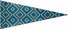 Fanion extérieur drapeaux tissu textile Turquoise
