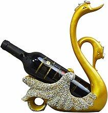 Fantes Swan Porte-bouteilles de vin en forme de