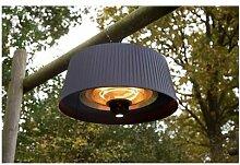 Fargau - Chauffage infrarouge lustre 1800 w 6m2