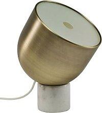FARO-Lampe à poser Marbre/Métal H32cm marbre