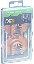 Fartools 151024 Kit Spatules pour Céramique