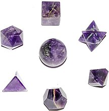 FASHIONZAADI Amethyst Stone Crystal Platonic