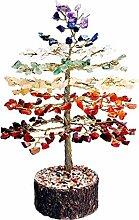 FASHIONZAADI Gemstone Bonsai Money Tree Healing