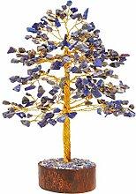 FASHIONZAADI Lapis Lazuli Gemstone Tree Healing