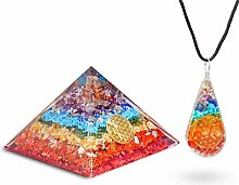 FASHIONZAADI Seven Chakra Crystal Pyramid and