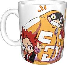 Fat and Kiri! Mug humoristique pour café ou thé