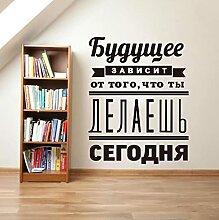 Faucet oersing Stickers Citation Inspirante Russe