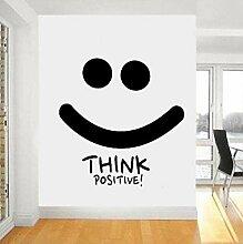 Faucet oersing Stickers Pensez Positif Stickers