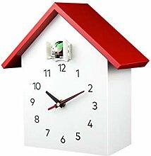 Fauge Coucou Quartz Horloge Murale Moderne Oiseau