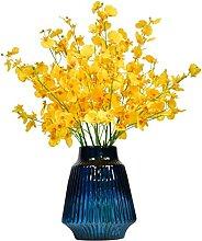 Fausse Fleur Fleurs Artificielles avec Vase Inclus