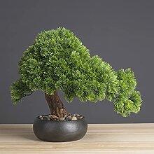 Fausse Plante Plantes artificielles Bonsaï Pine