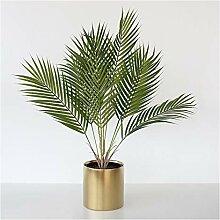 Fausse Plante Verte Artificielle Palm Silk Arbre