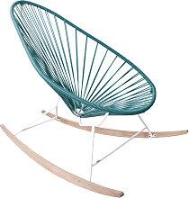 Fauteuil à bascule ACAPULCO de Boqa avec ski