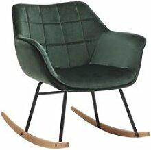 Fauteuil à bascule chaise lounge design en