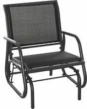 Fauteuil à bascule de jardin rocking chair design