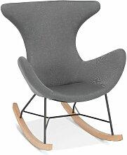 Fauteuil à Bascule Design comex 98cm Gris - Paris
