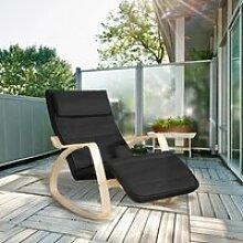 Fauteuil à Bascule Rocking Chair Chaise Relax en
