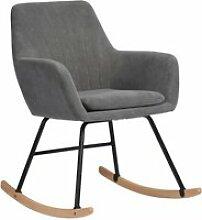Fauteuil à bascule scandinave Rocking Chair -
