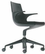Fauteuil à roulettes Spoon Chair / Rembourré -