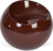 Fauteuil Ball Chair Finn Stone Style Chocolat