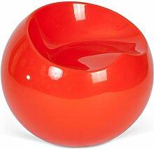 Fauteuil Ball Chair Finn Stone Style Orange