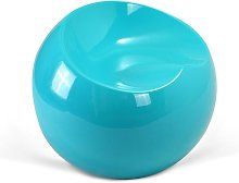 Fauteuil Ball Chair Finn Stone Style Turquoise