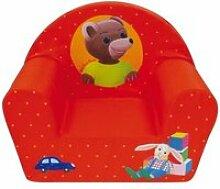 Fauteuil bebe - canape bebe petit ours brun