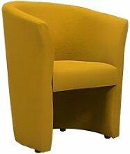 Fauteuil Cabriolet jaune moutarde - CABRI
