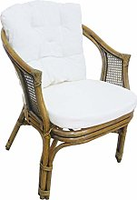 Fauteuil chaise en rotin bambou jonc Vienne rotin
