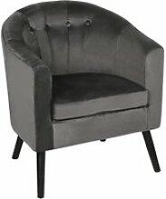 Fauteuil chaise- scandinave salon contemporain