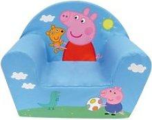 Fauteuil club mousse peppa pig & george