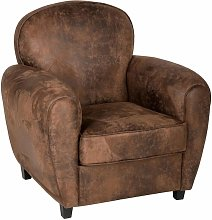 Fauteuil Club Stanis Hipster Home - Atmosphera -