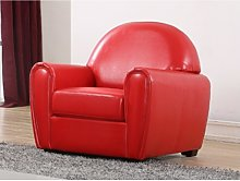 Fauteuil club VICTORY II - Rouge