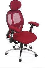 Fauteuil de bureau ergonomique rouge ULTIMATE V2