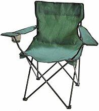 Fauteuil de camping pliant vert - vert