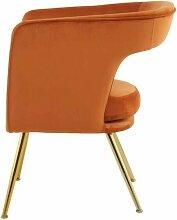 Fauteuil de table KIARA Orange - Orange