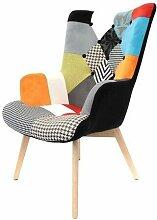 Fauteuil Design Helsinki Patchwork Home Deco