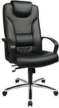 fauteuil direction comfort 50 cuir noir